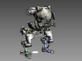 Robot Mech Walker Rig 3d preview