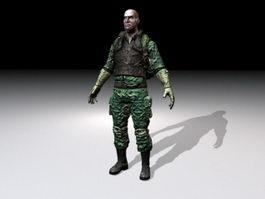 Army Commando 3d preview