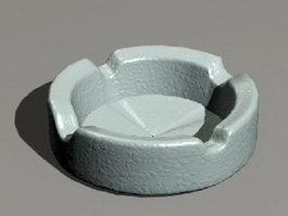 Cigarette Ashtray 3d preview