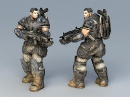 Special Forces Soldier 3d preview