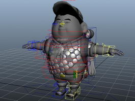 Russell from Up Rig 3d preview