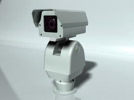 Outdoor Security Camera 3d preview