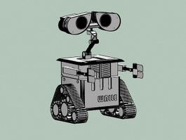 WALL-E 3d preview