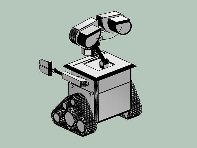 WALL-E 3d rendering