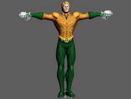 Aquaman 3d preview