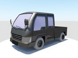 Pickup Truck 3d preview