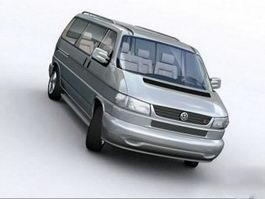 VW Volkswagen Van 3d preview