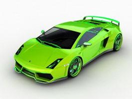 Lamborghini Gallardo LP560 3d model preview