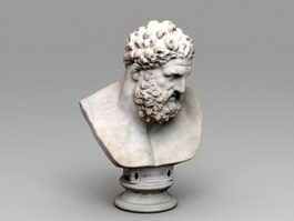 Roman Bust Hercules 3d preview