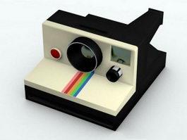 Polaroid Camera 3d preview