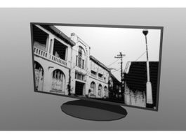 LCD TV 3d preview