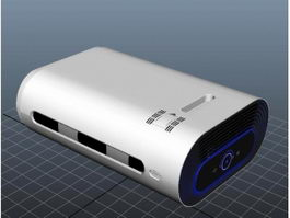 Power Bank Battery Charger 3d preview