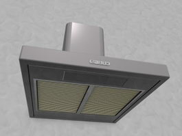 Wall Canopy Exhaust Hood 3d preview