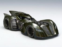 The Batmobile 3d preview