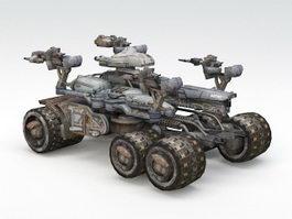 Sci-Fi Combat Vehicle 3d preview