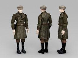 Soviet Soldier 3d preview