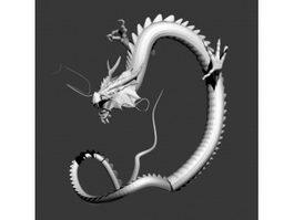 Japanese Dragon 3d model preview
