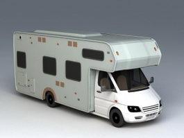 Camper Van 3d preview