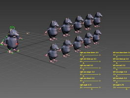 Fat Rat Rig 3d preview