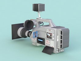 Professional Video Camera 3d preview