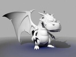 Cute Dragon 3d preview