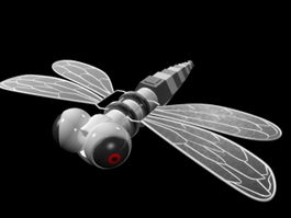 Robotic Dragonfly 3d preview