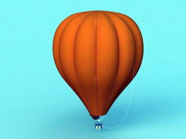 Hot Air Balloon 3d preview