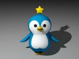 Cartoon Penguin 3d preview