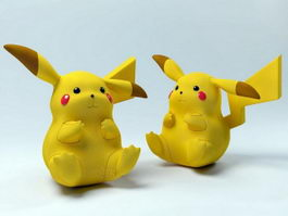 Pokemon Pikachu 3d preview