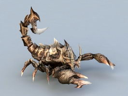Scorpion Monster 3d preview