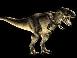 Tyrannosaurus Dinosaur 3d model preview