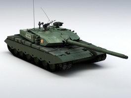 ZTZ99 Tank 3d preview