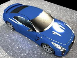 Nissan GT-R NISMO 3d preview