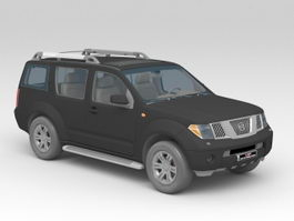 Nissan Pathfinder 3d preview