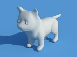 Puppy Dog 3d preview