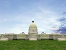 United States Capitol 3d preview