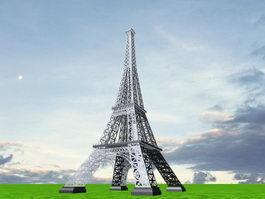 Eiffel Tower 3d preview