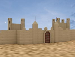 Ancient Fort 3d preview