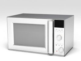 Built Microwave 3d preview