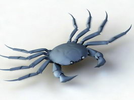 Blue Crab 3d preview