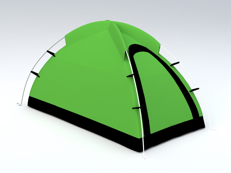 Camping Tent 3d model 3D Studio files free download ...