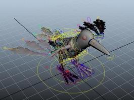 Bird Rig 3d preview