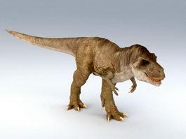 Tyrannosaurus Rex Dinosaur 3d model preview