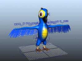 Parrot Rig 3d preview