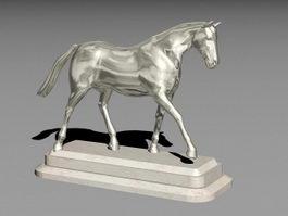 Horse Figure 3d preview