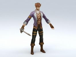 Medieval Pirate 3d preview
