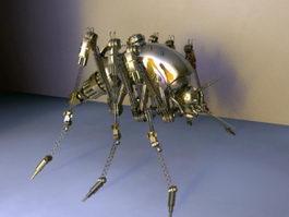 Robotic Spider 3d preview