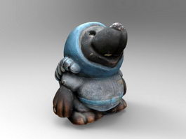 Mythical Animal Figurine 3d model preview