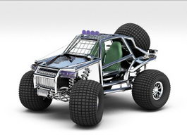 Tomcar 3d preview