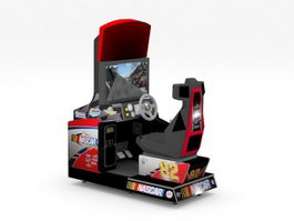 Nascar Arcade Machine 3d preview